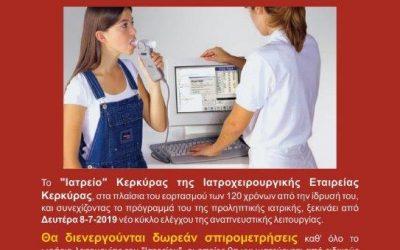 Δωρεάν Προληπτική Ιατρική στο Ιατρείο Κέρκυρας